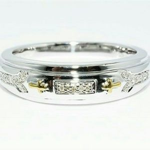 .13tcw real diamonds stamped 925 sterling ring